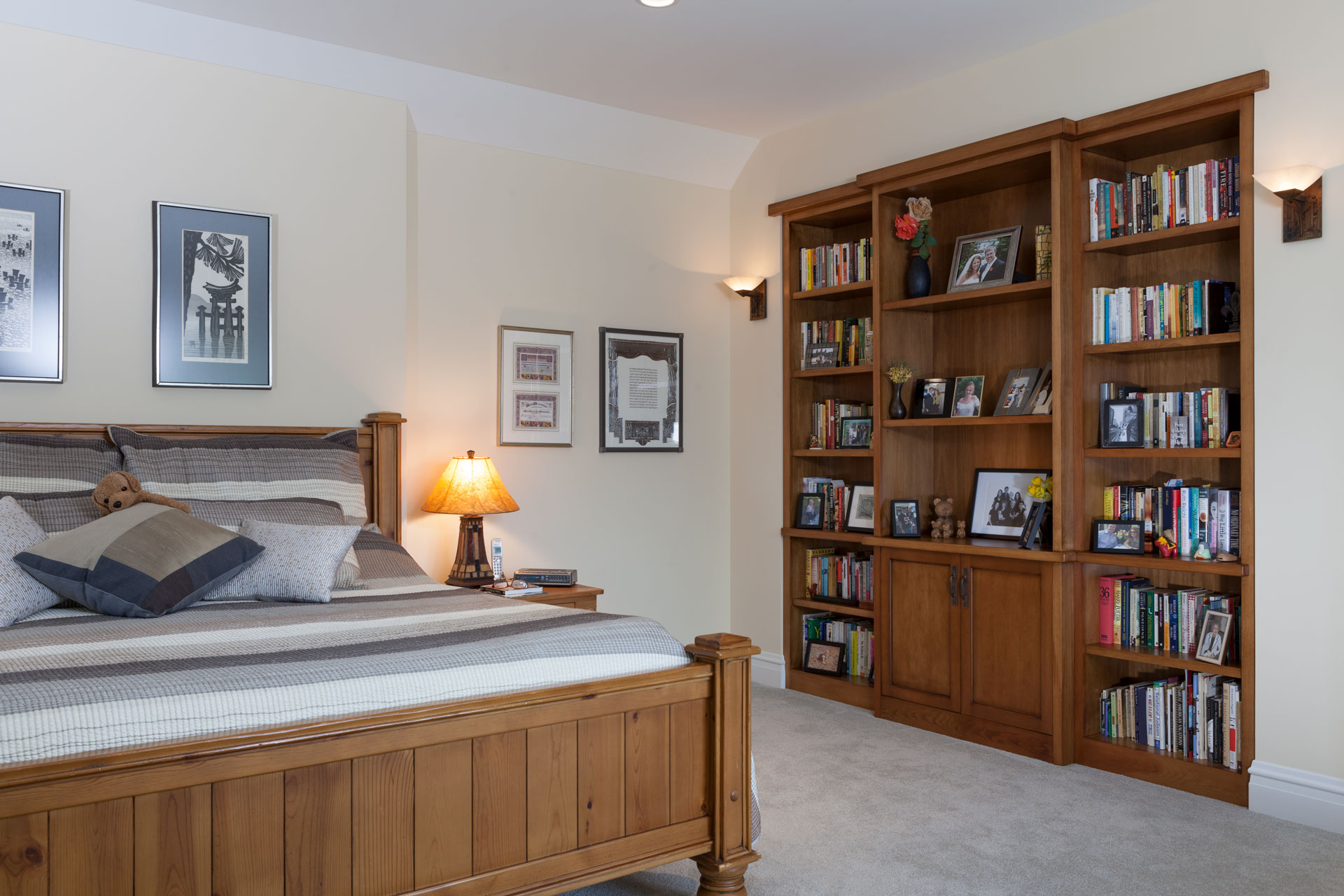 Bedroom-Bookcase